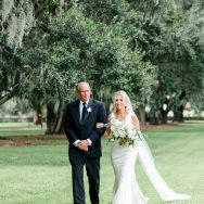 Tara and Jeremy's wedding at Boone Hall Plantation