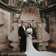 Gabrielle and Benjamin's wedding at Vizcaya Museum & Gardens