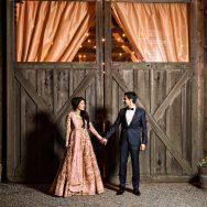 Hindu Barn Wedding at Olympia's Valley Estate