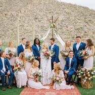 Lauren and Dan's boho wedding at The Ritz-Carlton Dove Mountain