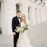 Kelley and Jimmy's Black Tie Detroit Wedding