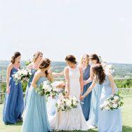 Ashlee and Brett's wedding at Dove Ridge Vineyard