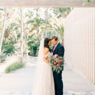 Leigh and Adam's destination wedding at Acre Baja