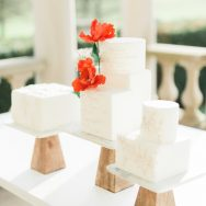 Elegant poppy red inspiration shoot