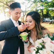 Irish and Long's wedding at Olowalu Plantation Estate
