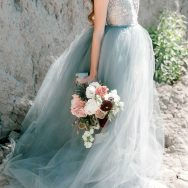 Dusty Blue Seaside Inspiration Shoot