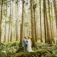Zanny and Noah's wedding at Skokomish Park at Lake Cushman