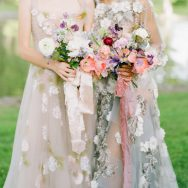 Watercolor Floral Inspiration Shoot