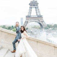 Anat and Keenan's wedding in Paris