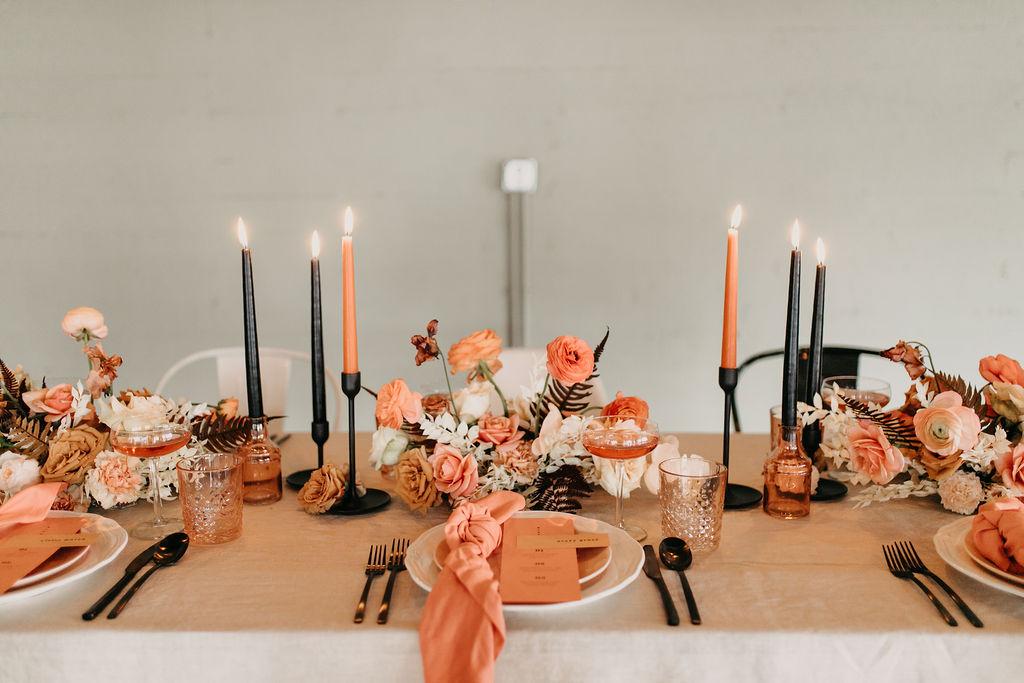 Modern Boho Coral Inspiration Best Wedding Blog