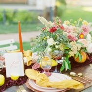 Sun-kissed Citrus Inspiration Shoot