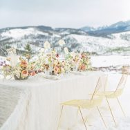Dreamy Winter Wedding Editorial
