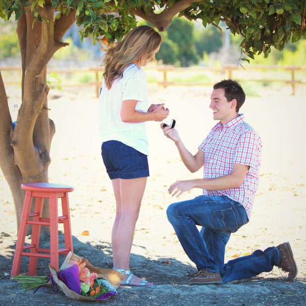 Lauren and Taylor Proposal Photo