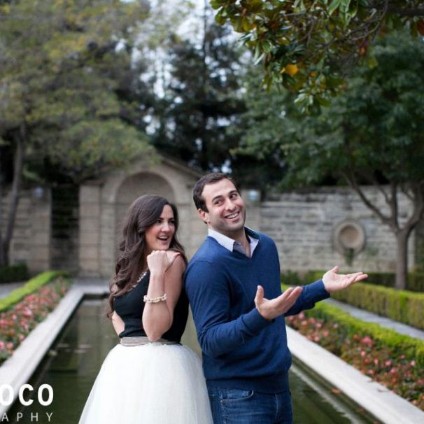 Lindsey Wilkins and Andrew Guendjoian Proposal Photo