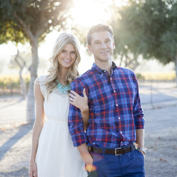 Leah & Michael Proposal Photo