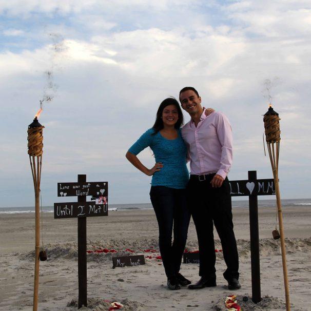 Lorena Londono Proposal Photo