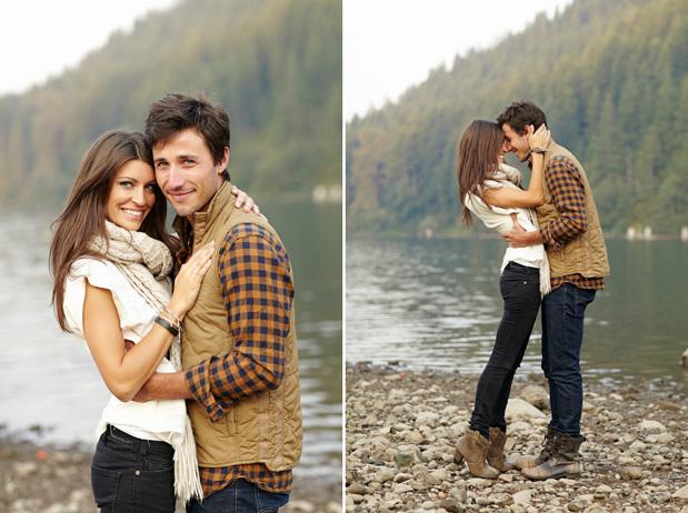 Thanksgiving Engagement   Best Wedding Blog