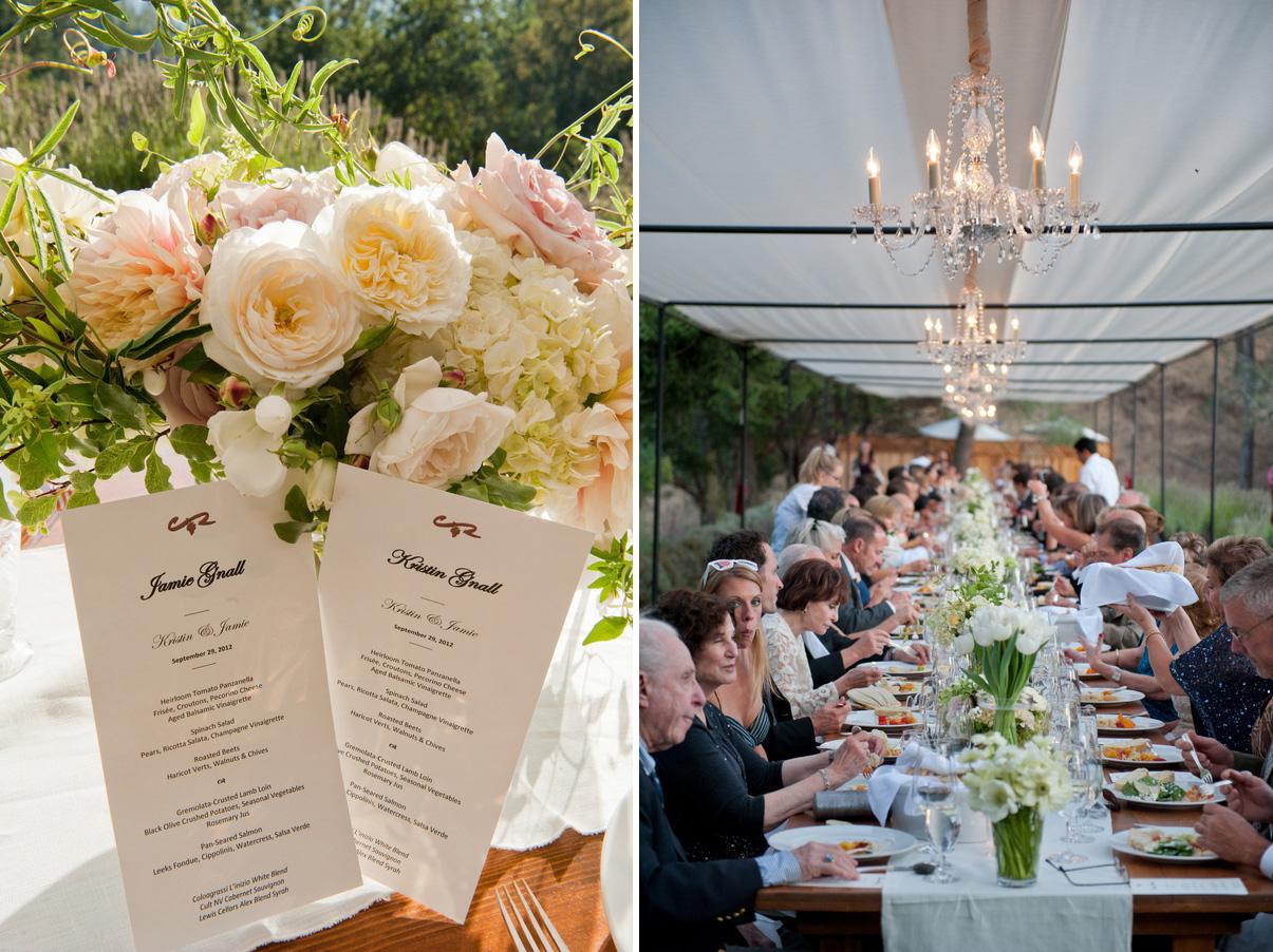 Calistoga Ranch Napa Wedding In Ivory 9 8 7
