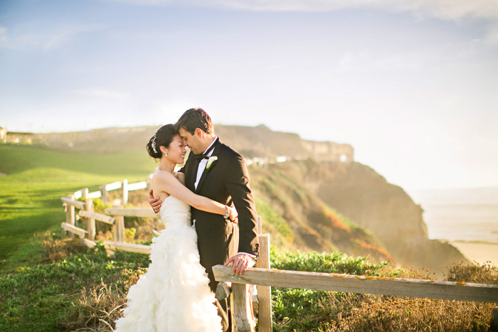 Ritz Carlton Half Moon Bay Elegant Ballroom Wedding