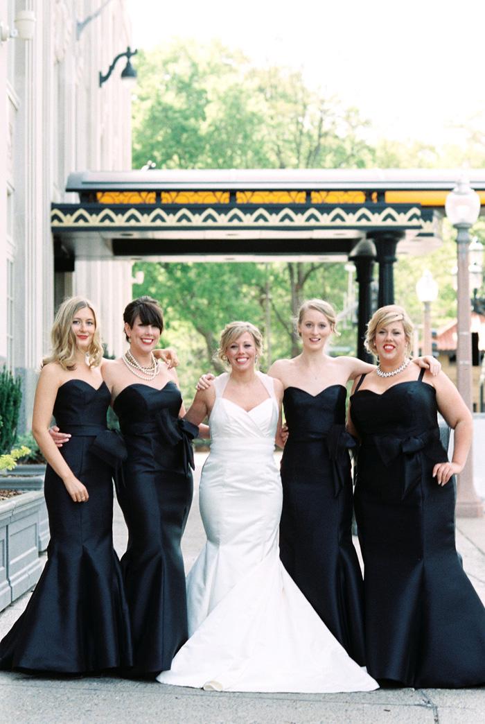 Chase Park Plaza Hotel Wedding Black And White