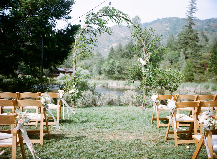 Calistoga Ranch Napa Wedding Sylvie Gil 7