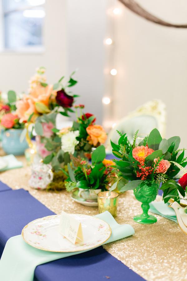 Myriad Botanical Gardens Wedding Mrs Box Bright Colorful