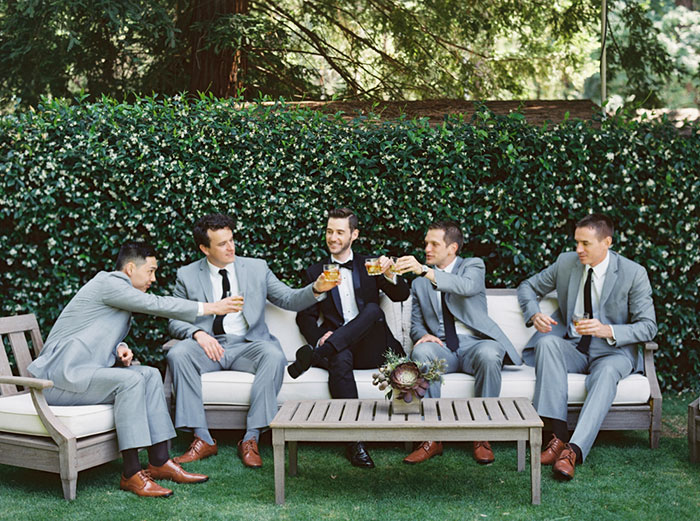 Meadowood Napa Valley Modern Glam Orchid Wedding Inspiration10