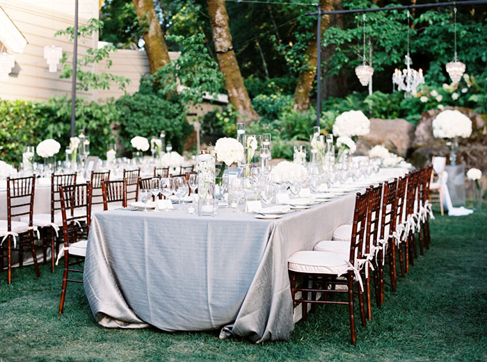 Meadowood Napa Valley Modern Glam Orchid Wedding Inspiration33