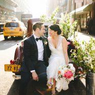 Laura and Danny's New York City Wedding